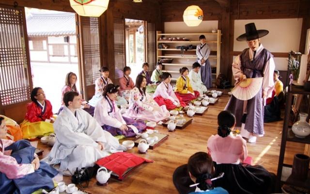 Korejský čajový obřad
