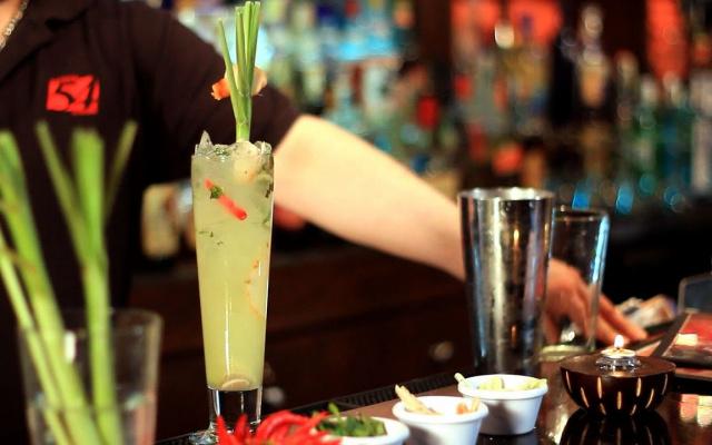 Příprava koktejlu