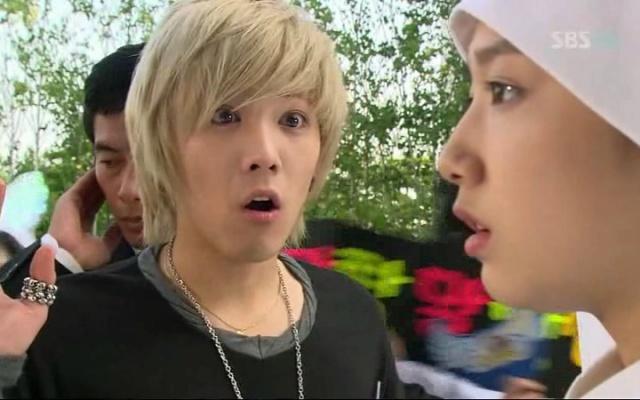 """Hong Gi jako Jeremy v prvním díle """"You′re Beautiful"""""""