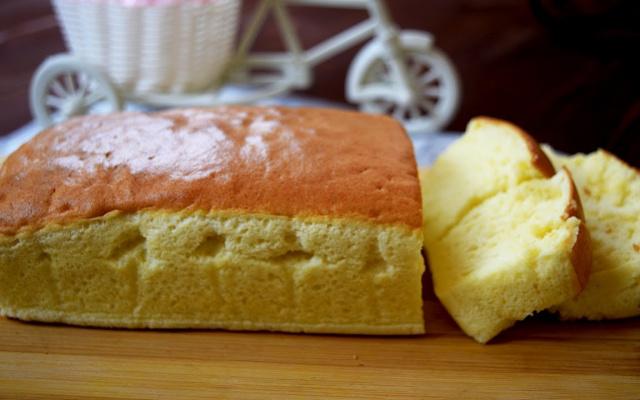 Taiwanský castella dortík