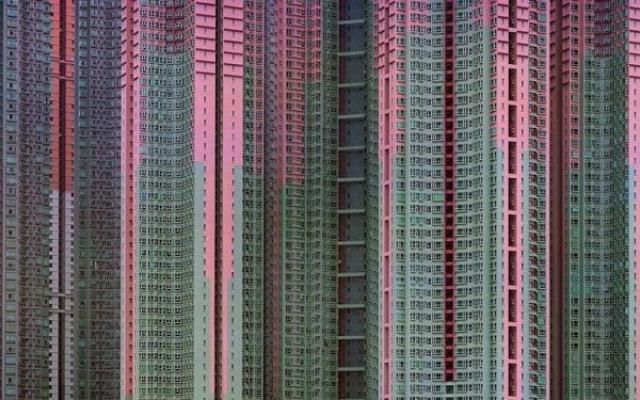 sídliště v HongKongu