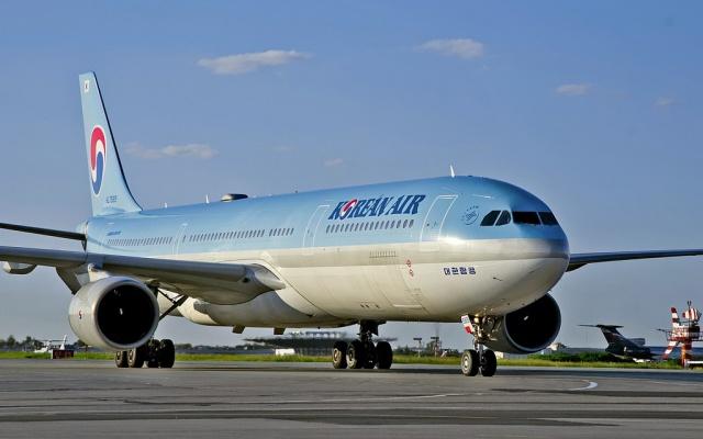 lietadlo juhokórejských aerolínií