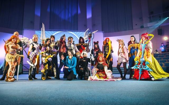 Účastníci Cosplay debutu