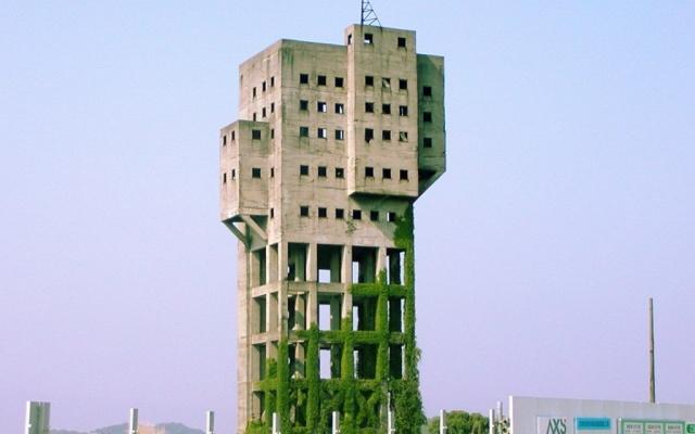 Věž uhelného dolu