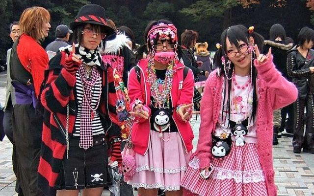Japonská móda