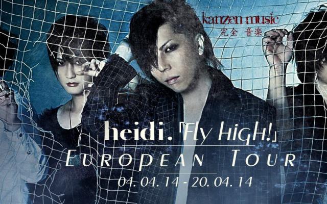 heidi. EU tour