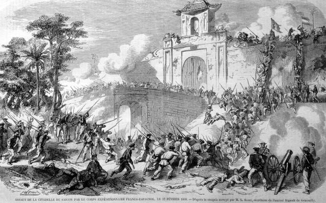 Franocuzská kolonizace Vietnamu, 1859