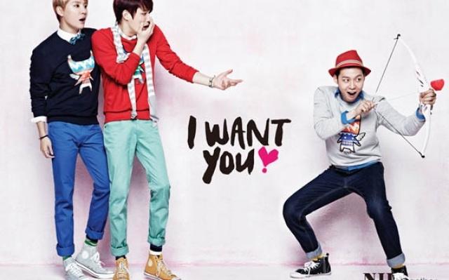 Foto JYJ pro jarní kampaň NII - I Want You
