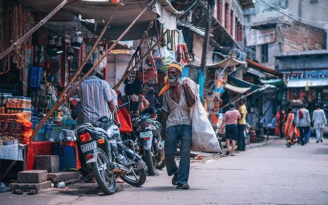 Oblečení v Indii