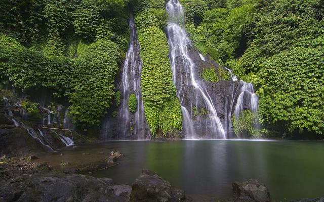 Vodopád Banyumala