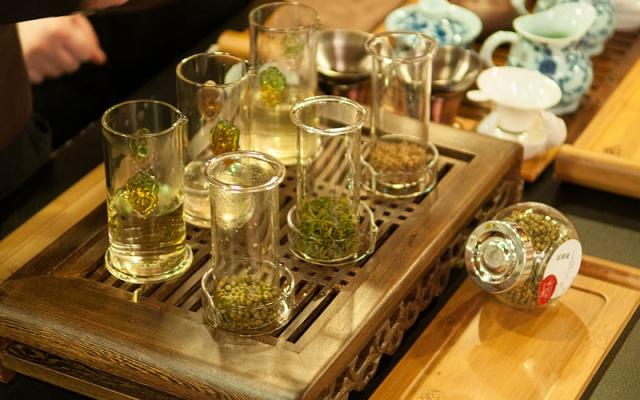 Zelený čaj - ilustrační foto