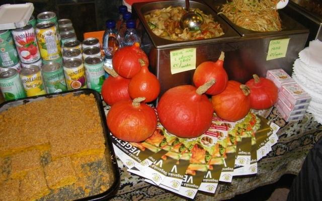 Čínské jídlo na Wushufestivalu v Praze
