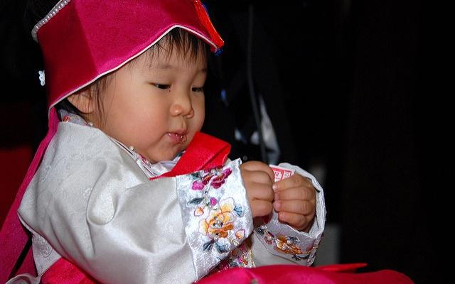 Korejská holčička