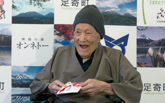 Nejstarší muž planety Masazo Nonaka