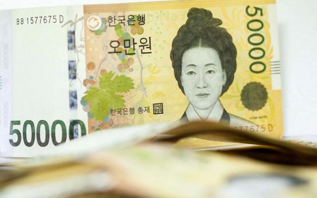 Korejská bankovka
