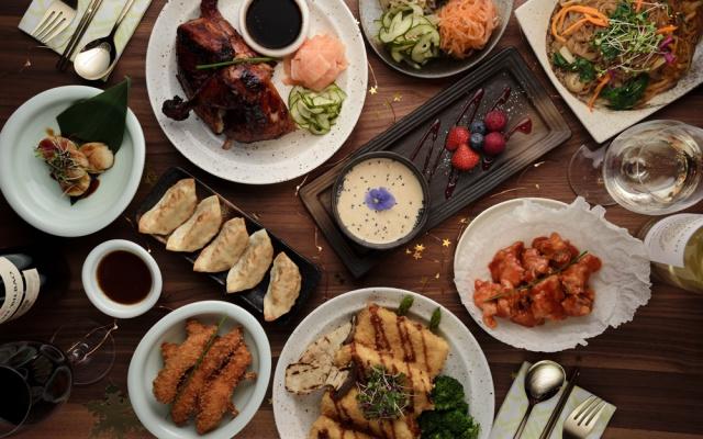 Korejská vánoční tabule