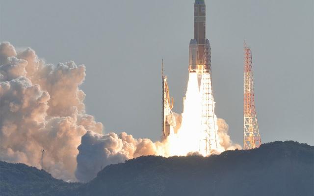Start rakety Kounotori 2 (ilustrační foto)