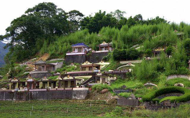 Hřbitov na Taiwanu