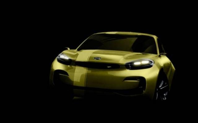 Čtyřmístné kupé KND-7 od Kia Motors
