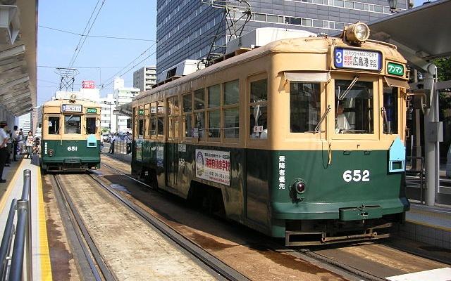 Hirošimské električky 651 a 652
