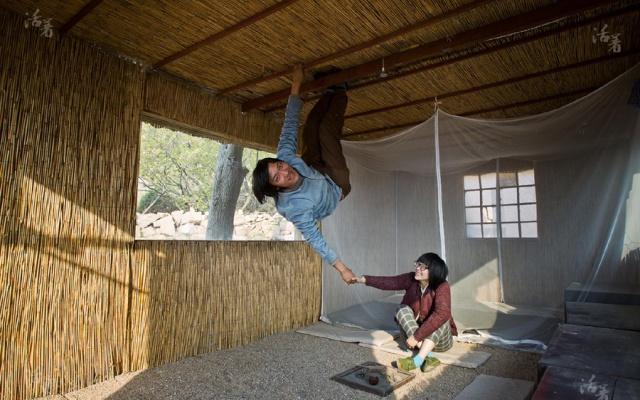 Zátěžová zkouška vlastnoručně vyrobené střechy