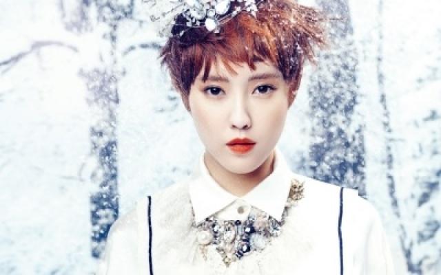 Hyomin v magazínu InStyle