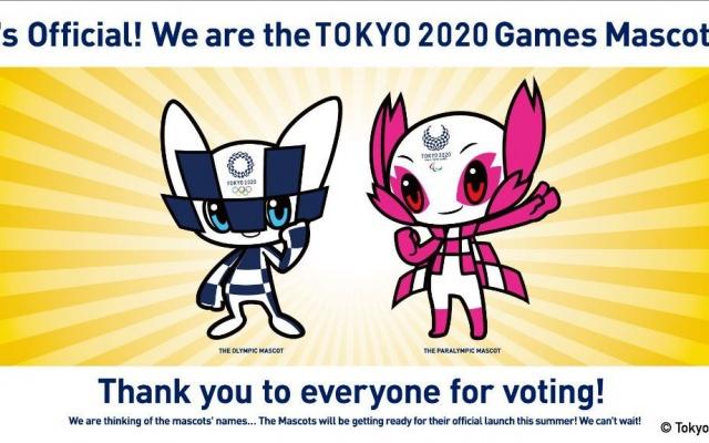 Maskoti pre Letné olympijské a paraolympijské hry v Tokiu 2020