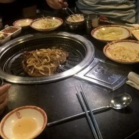 Korejské barbeque