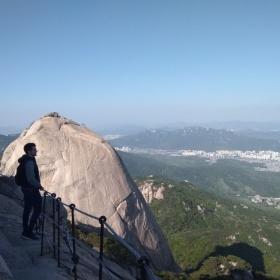 Pohled z Baegungdae.